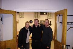 Från vänster: Patrik Nilsson,Henrik Hedberg och Eric Nordin.