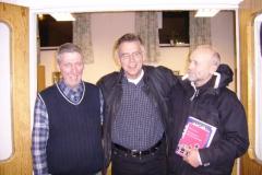 Från vänster: Jan Svensson (HSS),Ronny Sandström och ?